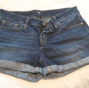 Gap blue jean shorts